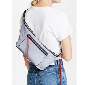 Rag & Bone Elliot Fanny Pack w/ Red Accents